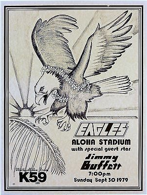 The Eagles Aloha 16  X 12  Photo Repro Concert Poster • 5.50£