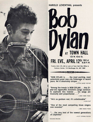 BOB DYLAN  - Postcard Collection - 100 Different Promo Poster Postcards # 1 • 49.99£