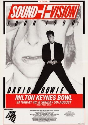 DAVID BOWIE  - Postcard Collection - 100 Different Promo Poster Postcards # 1 • 49.99£