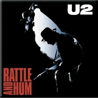 100% Official Licensed Merch FRIDGE MAGNET Bono : U2 : Rattle And Hum • 3.49£