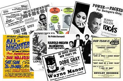 NORTHERN SOUL - 10 Promotional Posters  Collectable Postcard Set # 1 • 5.99£