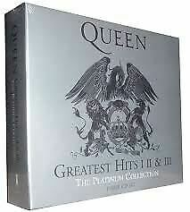 Queen, Greatest Hits I II & III: The Platinum Collection CD New Sealed • 12.95£