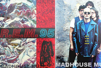 R.E.M. HOLGRAM Tour Original Programme 1995 REM 20 Page Glossy Totally MINT New • 11.95£