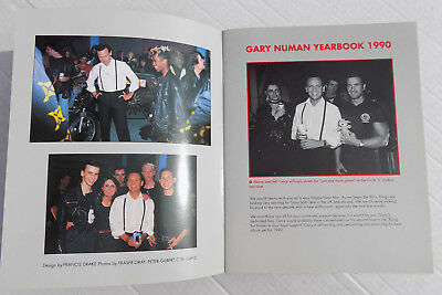 GARY NUMAN Fan Club 1990 BOOKLET Glossy Colour A4 Size 14 Page Year Book Rare • 24.95£