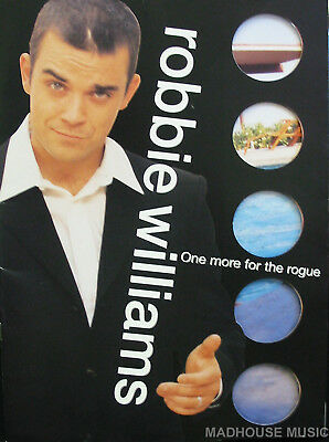 ROBBIE WILLIAMS Programme One More For The Rogue UK TOUR 1998-1999 20 Page M- • 18.95£