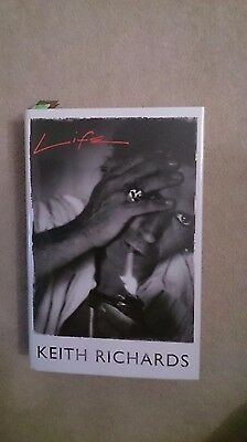 Keith Richards Rolling Stones  Signed Book Not Autopen • 999£