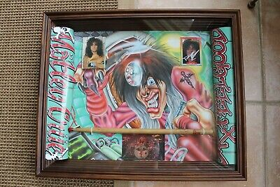 Tommy Lee Owned & Concert Used Drumstick Motley Crue Dr. Feelgood The Dirt Sixx • 344.39£