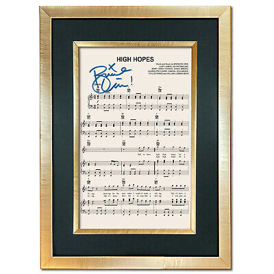 HIGH HOPES Panic At The Disco Signed Music Reproduction Autograph Print 802 • 5.99£