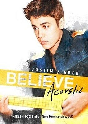 JUSTIN BIEBER Acoustic 2013 - ACRYLIC KEYCHAIN Official Merchandise • 2.49£