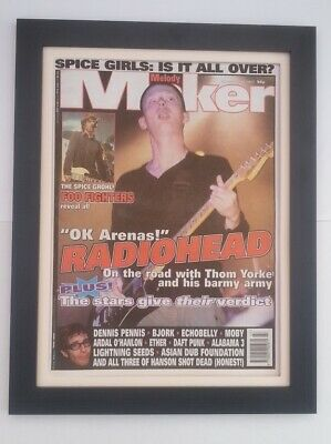 RADIOHEAD*OK Arenas*1997*ORIGINAL*COVER*QUALITY FRAMED*FAST WORLD SHIP • 59.95£
