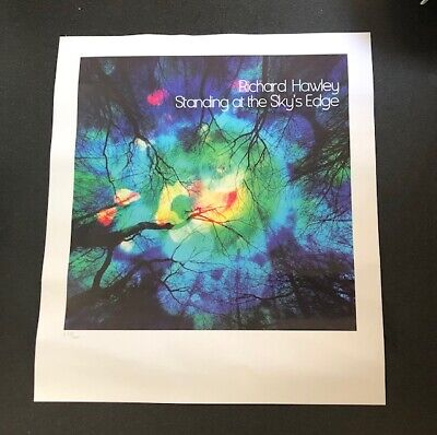Richard Hawley Limited Art Print For Standing At The Sky's Edge. 60 X 45 Cms New • 39.99£