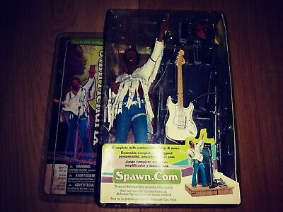 JIMI HENDRIX AUG 18 1969 8.04am. SUPER STAGE SPAWN FIGURE • 69.99£