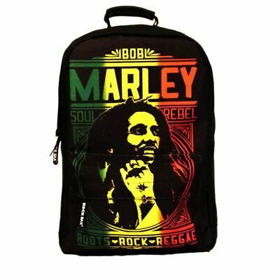 Bob Marley Roots Rock Laptop Backpack - School Uni Bag • 34.95£