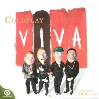 Coldplay - Official 2010 16 Month Calendar - Rare & Sealed • 12.95£