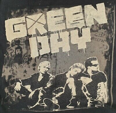 Green Day 2010 Offical Tour T Shirt Pop Punk Rock Size Xl Worn/used • 16£