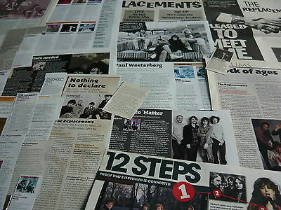 The Replacements - Magazine Cuttings Collection (ref X) • 5.95£