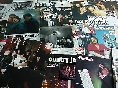 The Charlatans - Magazine Cuttings Collection (ref Xd) • 5.95£