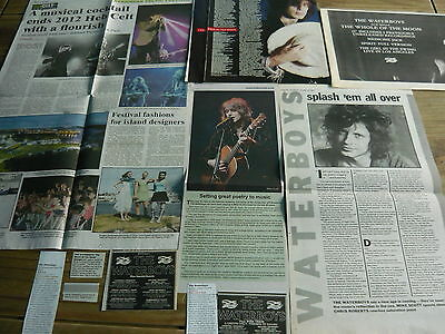 The Waterboys - Magazine Cuttings Collection (ref S10) • 3.95£