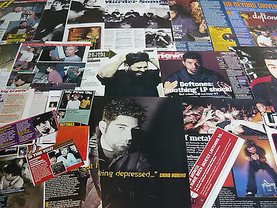 Deftones - Magazine Cuttings Collection (ref X1a) • 3.95£