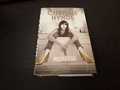 Chrissie Hynde  Signed Book • 50£