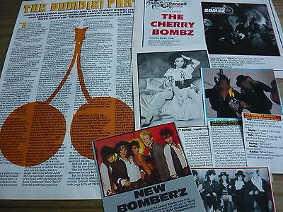 Cherry Bombz - Magazine Cuttings Collection (ref X1a) • 3.95£