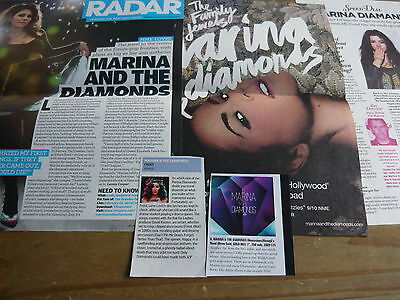 Marina & The Diamonds - Magazine Cuttings Collection (ref Z5) • 3.95£