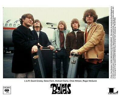 The Byrds 10  X 8  Photograph No 9 • 3.50£