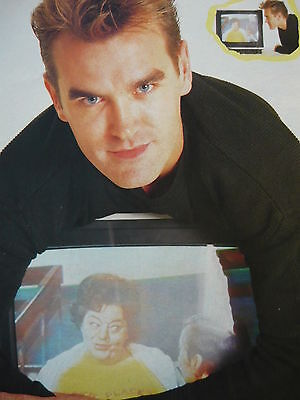 Morrissey - Magazine Cutting (full Page Photo) (ref Jd5) • 5.95£