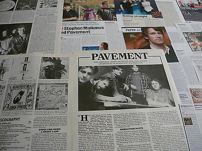 Stephen Malkmus/pavement - Magazine Cuttings Collection (ref T4) • 4.95£