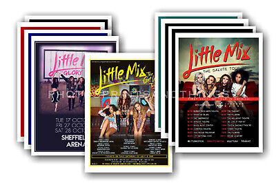 LITTLE MIX - Promotional Posters - Collection Of 10 Postcards # 1 • 5.99£