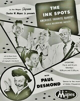 The Ink Spots 10  X 8  Photograph No 5 • 3.50£