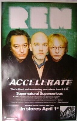 REM Accelerate Double-Sided Limited Edition Poster 11x17 • 23.81£