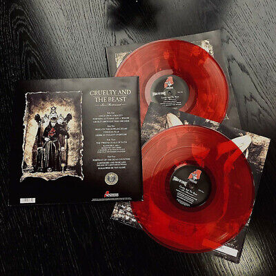 Cradle Of Filth Cruelty And The Beast Re-Mistressed Sealed RED COLOUR Vinyl LP  • 23.95£