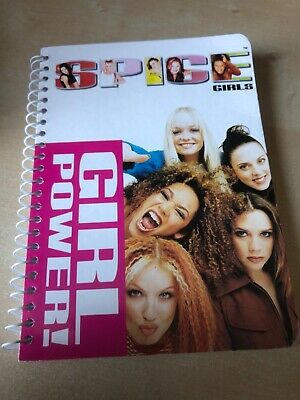 Spice Girls Official Merchandise Girl Power! Small Note Pad / Notebook  • 9.95£
