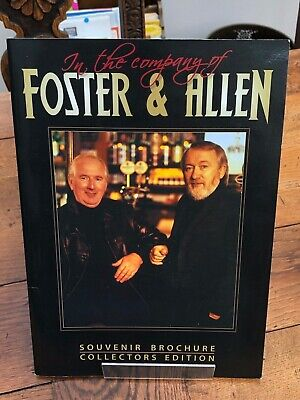 In The Company Of Foster & Allen . Souvenir Brochure Signed ! • 24.99£