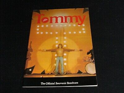 The Who - Tommy - Original 1975 Official Souvenir Film Brochure / Elton John Etc • 9.99£