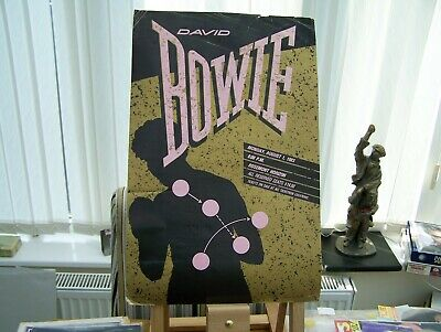 David Bowie 1983 Usa Tour Poster.  • 20£