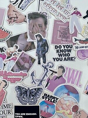 50 Glossy Harry Styles Stickers Watermelon Sugar Fine Line Adore You Tour 2020 • 7.49£