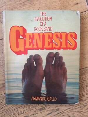 The Evolution Of A Rock Band Genesis Book • 23£