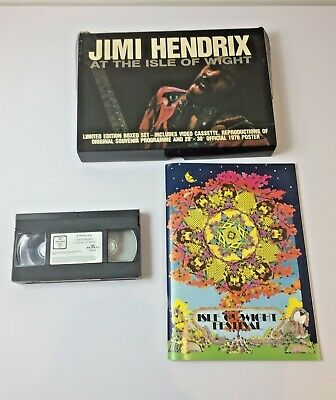 Jimi Hendrix At The Isle Of Wight Limited Edition Boxed Set 1970 Reproduction • 39.99£