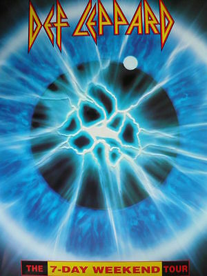 Def Leppard - The 7-day Weekend Tour Programme • 14.95£