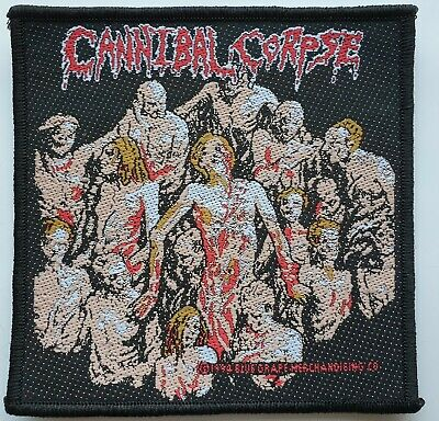 Cannibal Corpse Original Woven Patch Death Metal Gore Heavy Metal  • 7.99£
