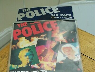 The Police Limited Edition Vinyl Singles 6 Pack.   • 39.99£