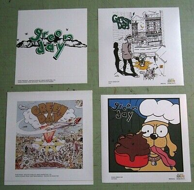 Green Day  Lot Of 4 Dookie 1994 & 1995 Vintage Stickers • 15.63£