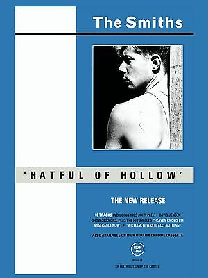 The Smiths HATFUL OF HOLLOW 16  X 12  Photo Repro Promo  Poster • 5.50£