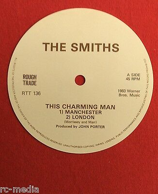 The Smiths -This Charming Man- Unused 12  Record Label  • 29.99£