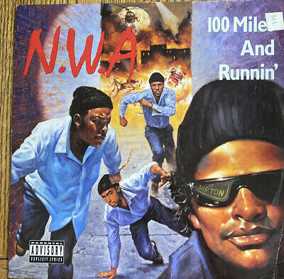 N.W.A 100 Miles And Runnin' 12  Vinyl • 2.50£