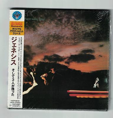 GENESIS AND THEN THERE WERE 3 Japanese Mini Cd Brand New Sealed Original • 23.99£