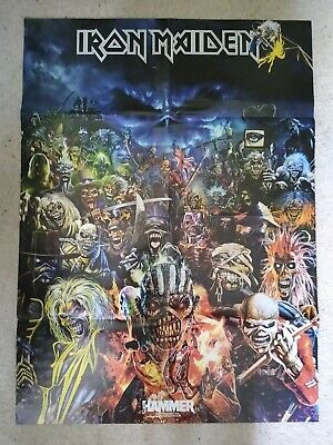 Iron Maiden Poster And Flyer • 0.99£