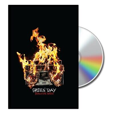 Exclusive Green Day Revolution Radio Lyric Book And CD • 20£